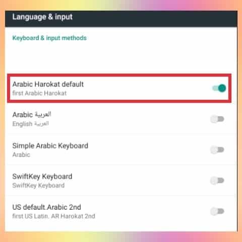 cara membuat tulisan arab dengan harokat 2