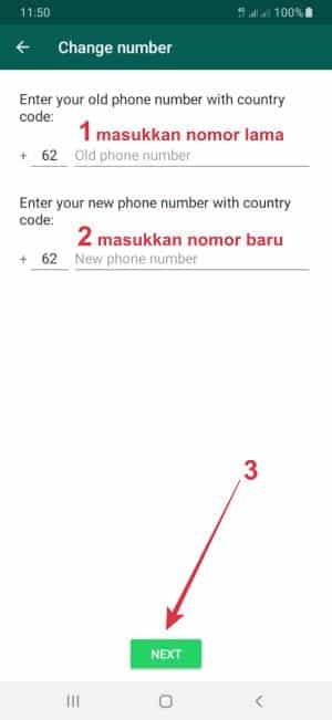 cara memindahkan akun wa yang nomornya tidak aktif