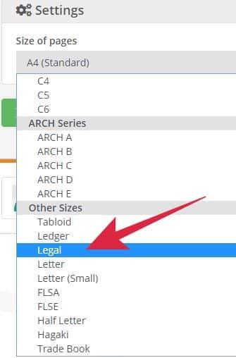 cara memperbesar ukuran kertas pdf