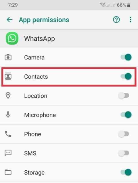cara mengatasi kontak whatsapp yang tidak muncul