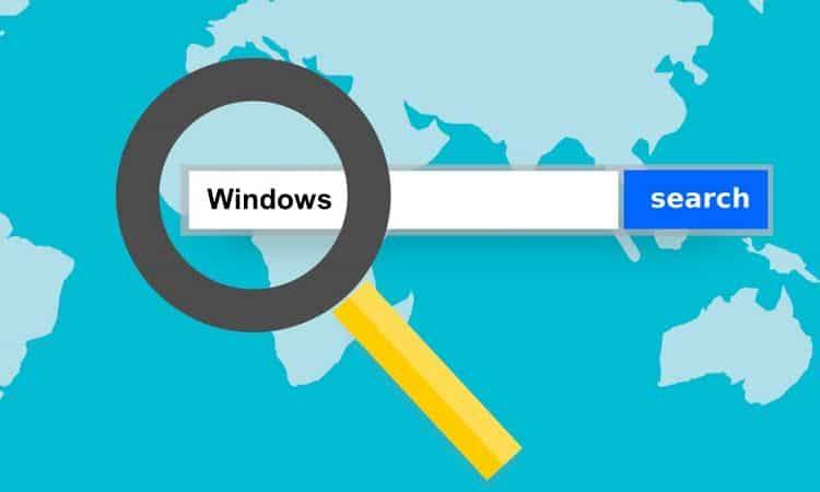 cara mengatasi search error di windows 10