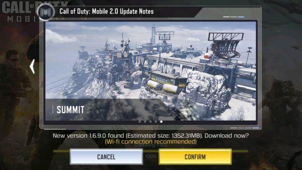 cara mengatasi tidak bisa confirm update call of duty mobile