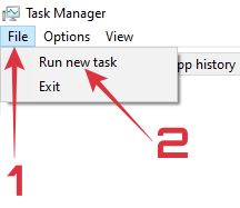 cara mengatasi windows 10 layar blank hitam