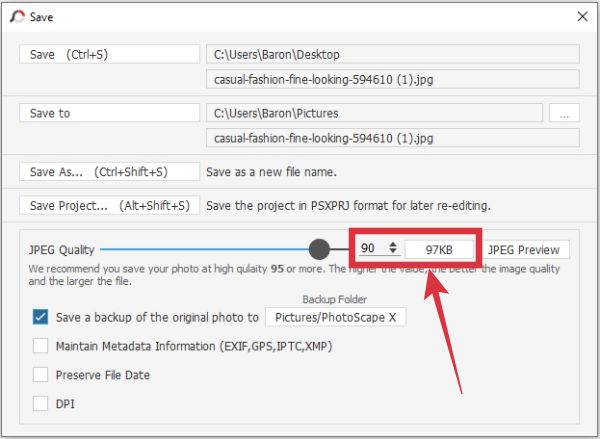 cara mengecilkan foto di bawah 100 kb