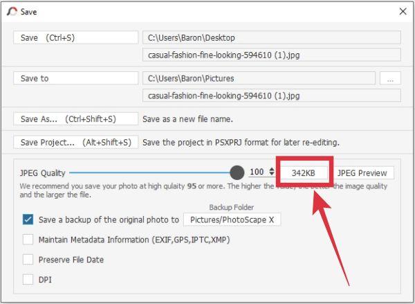 cara mengecilkan foto kurang dari 200 kb