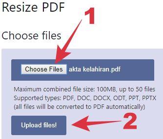 cara mengecilkan pdf kurang dari 300 kb