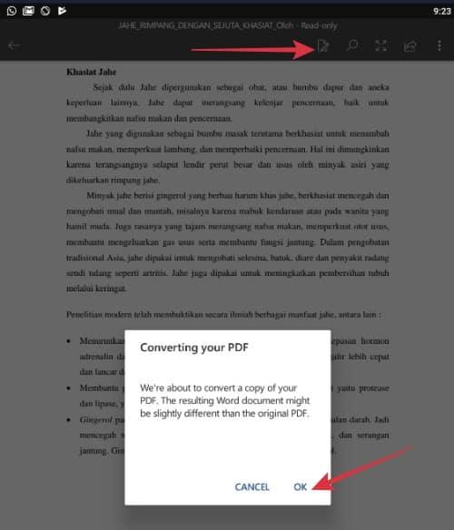 Cara Edit File Pdf Di Hp Android Mudah Banget