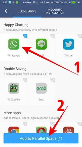 cara menggunakan 2 akun whatsapp dalam 1 hp 4