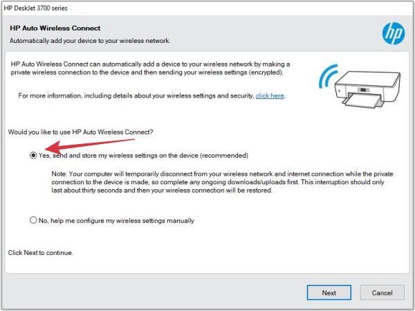 cara menghubungkan wifi printer hp deskjet ke komputer