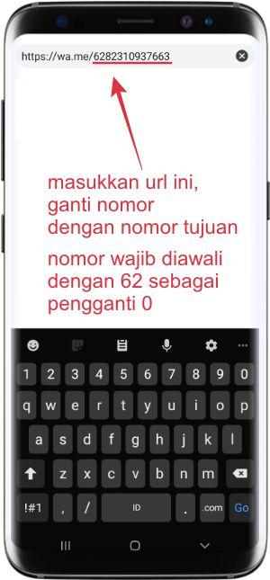 cara mengirim pesan wa tanpa simpan nomor