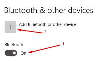 cara menyambungkan headset bluetooth di Windows 10