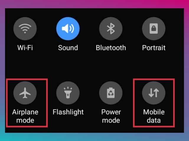 cara reset koneksi internet di hp android