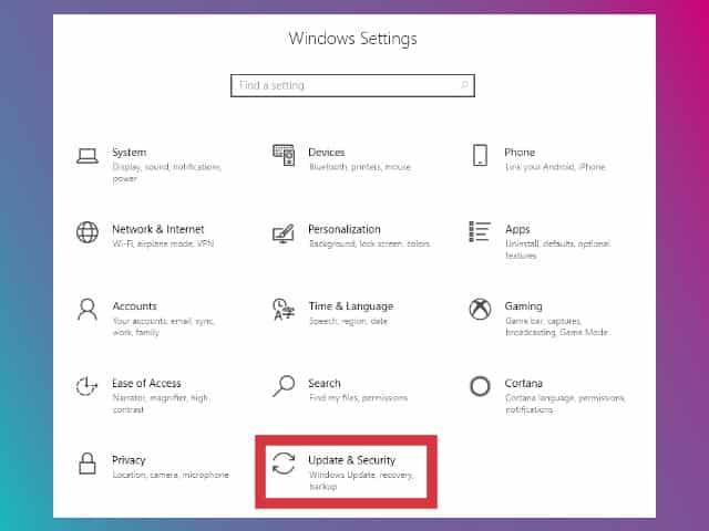 cara uninnstall update windows 10