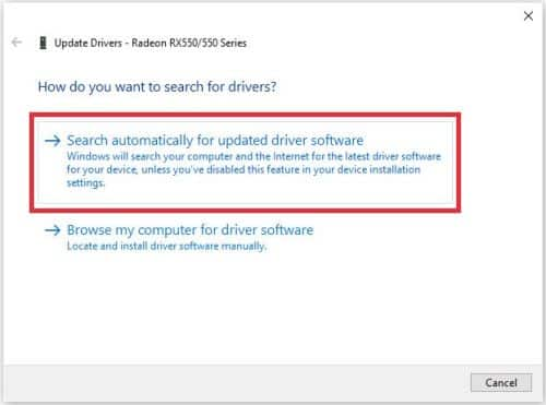 cara update driver secara otomatis