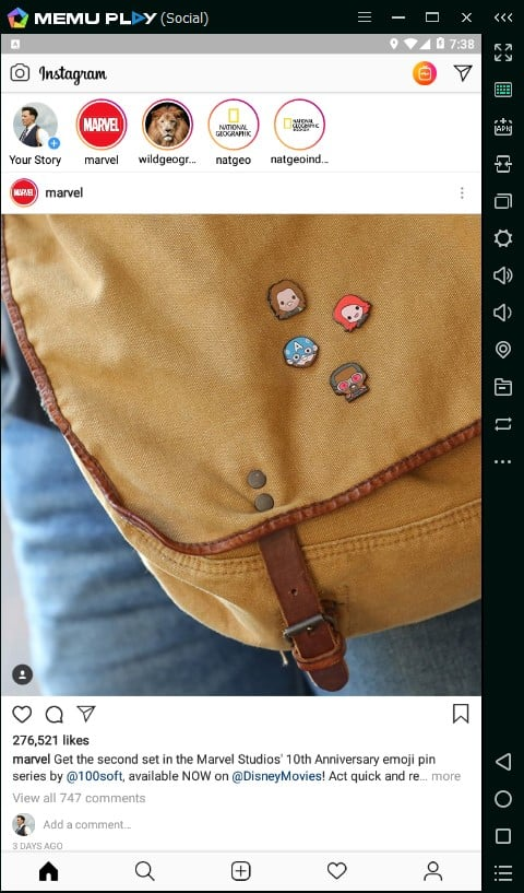 cara upload foto dan video instagram dari pc atau laptop 11
