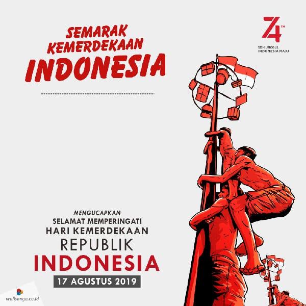 contoh desain poster hut kemerdekaan ri ke 74 10