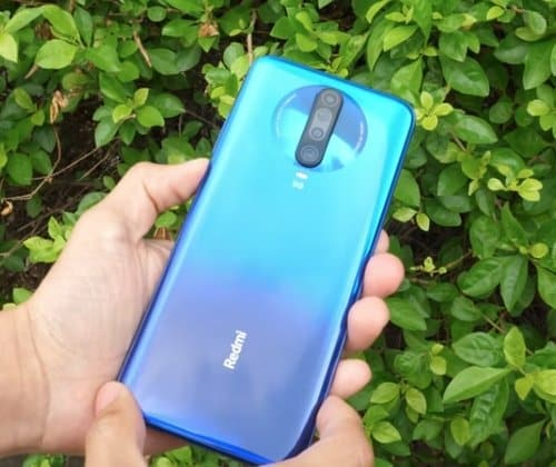 desain bodi Xiaomi Redmi K30 5G