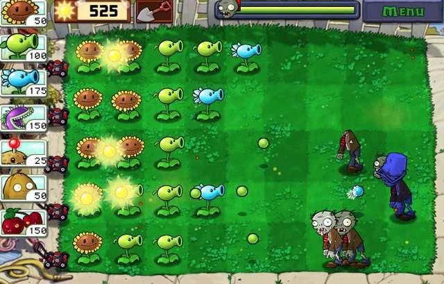 game android untuk mengusir bosan plant vs zombies