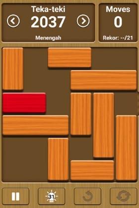 game android untuk mengusir bosan unblock me free