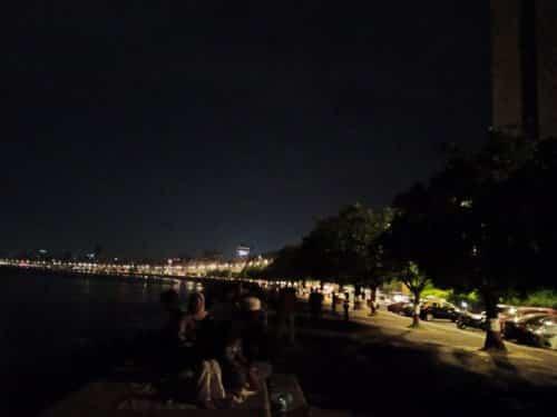 hasil foto malam hari dengan kamera infinix s5