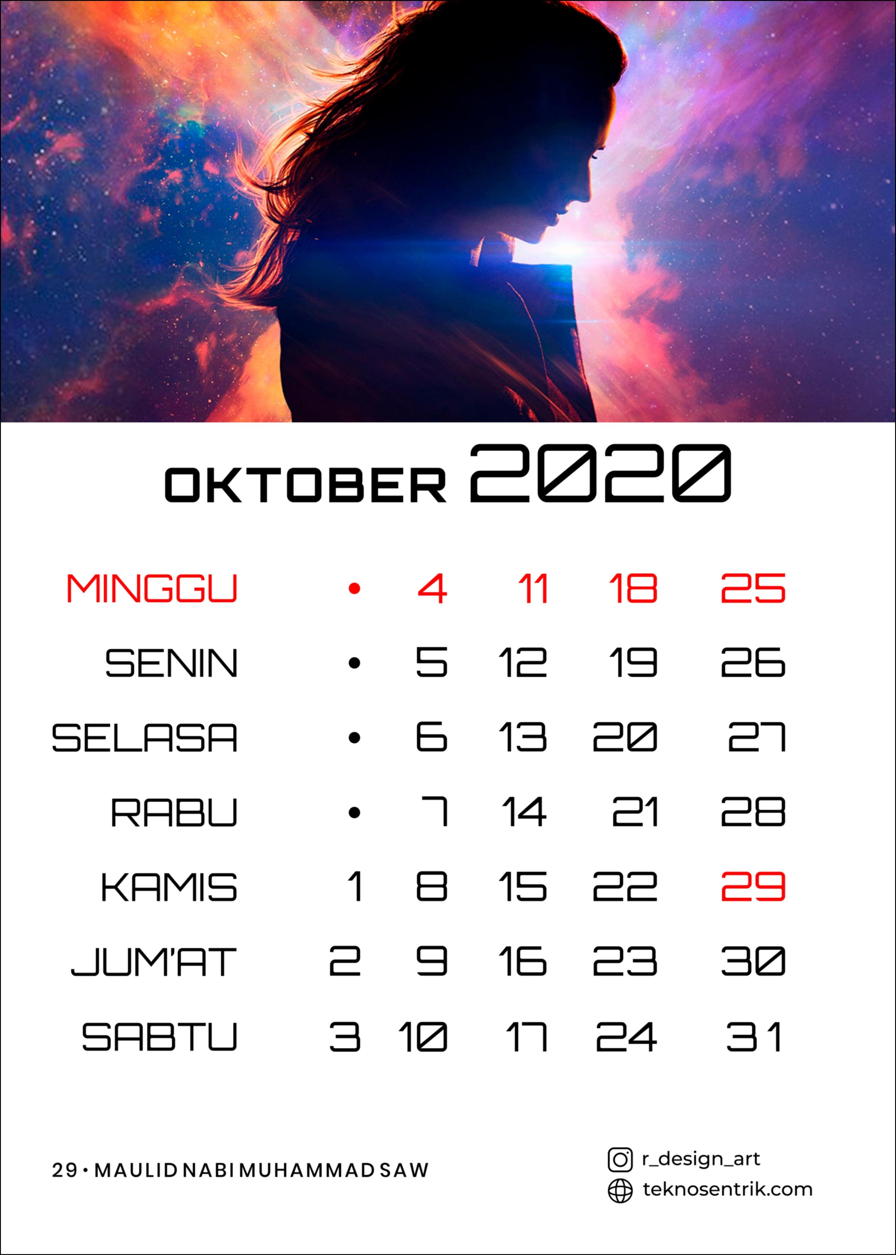 [TOP] Download Kalender 2020 Indonesia (JPG, PNG, PDF, CDR)