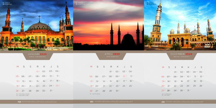 kalender 2020 masehi dan hijriyah