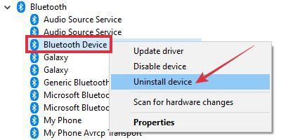 mengatasi bluetooth tidak bisa mengirim file windows 10