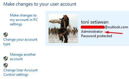 mengatasi this app cant run on your pc dengan akses administrator