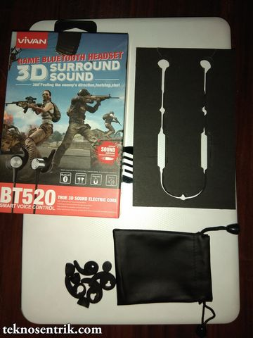 review headset bluetooth vivan bt520 3