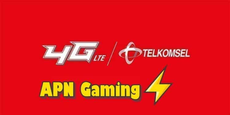 settingan APN telkomsel 4G tercepat untuk game