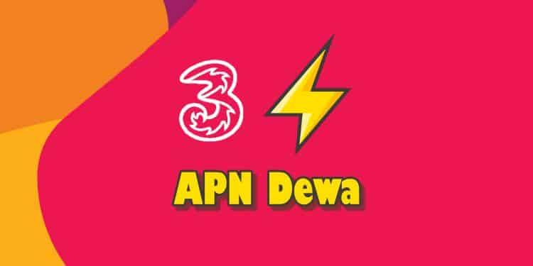 settingan APN tri 4G tercepat untuk game