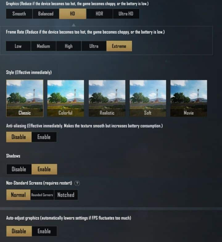 settingan emulator gameloop in game ram 8 gb