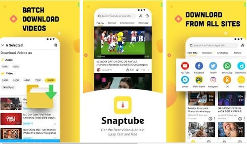 snaptube aplikasi download youtube android