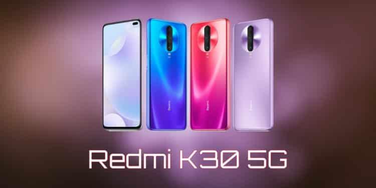spesifikasi dan harga Xiaomi Redmi K30 5G