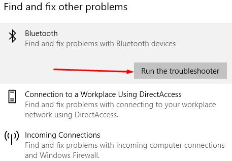 troubleshoot bluetooth yang error di windows 10