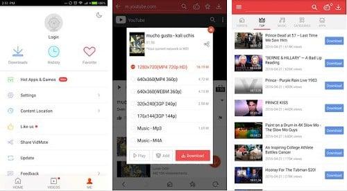vidmate aplikasi download youtube android tercepat