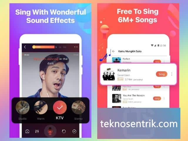 wesing aplikasi untuk karaoke di android