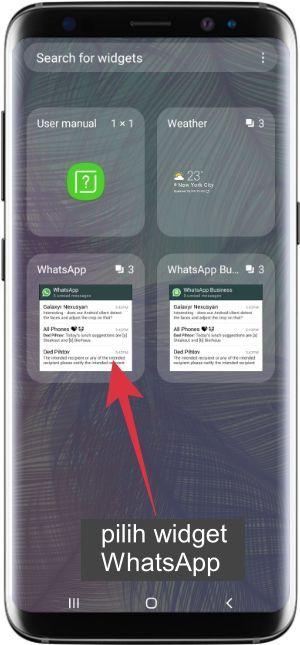 widget untuk membaca pesan grup whatsapp tanpa diketahui
